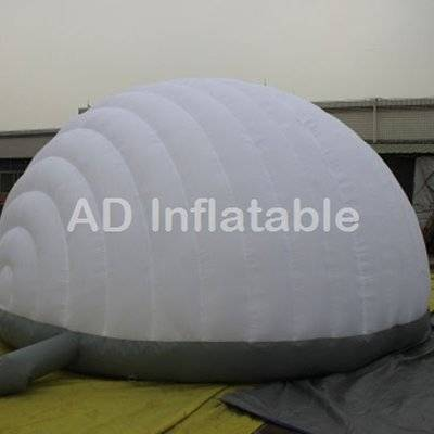 Cheap light weight luna inflatable tent, outdoor inflatable bubble tent, inflatable yard tent