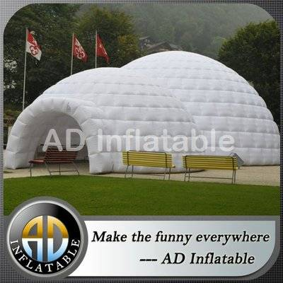 Big inflatable outdoor dome tent for party / cheap inflatable bubble tent supplier