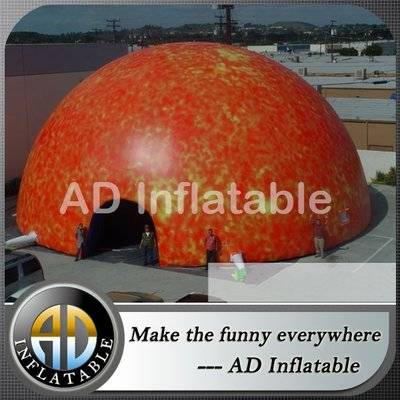PVC inflatable dome tent with full print / buy quality plactic adult inflatable bouncer