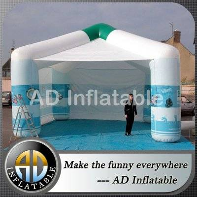Advertsing 4 legs inflatable tents for events, inflatable tent / jumpers bouncers supplier