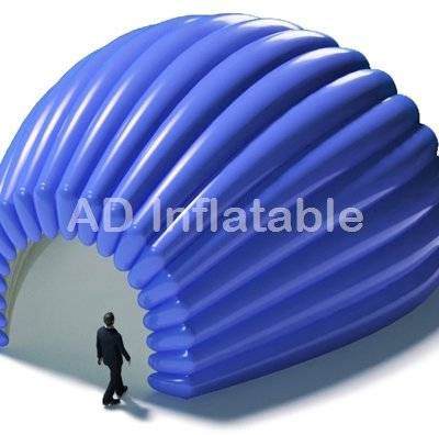 Popular small stage inflatable shell tent booth for advertising event