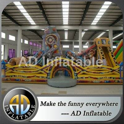 Giant China Inflatable Robot inflatable Park bounce house