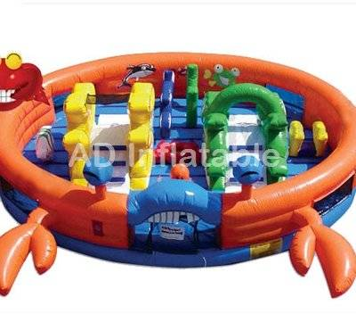Inflatable animal belly jumper bouncer for kids play made in china