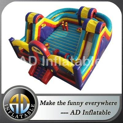 Kids inflatable outdoor Bounce Slide Combo Playspace