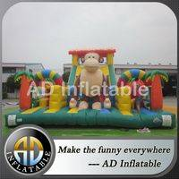Obstacle Bounce House,Inflatable play structures,Guangzhou Inflatable Products