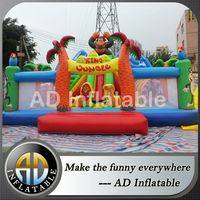 Jungle inflatable moonwalk,New funny inflatables paradise,Inflatable jungle fun city