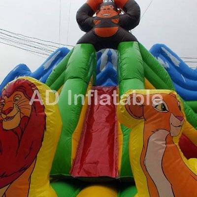 Toddler & Junior Units jungle king inflatable playground moonwalk