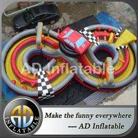 Figure eight obstacle course,Car race obstacle course,Inflatable giant toys