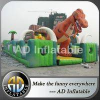 Jurassic inflatable park,Dinosaurs amusement park,Giant inflatable play center