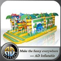 MINI bounce house,Jungle inflatable bouncer,Jungle jump inflatable