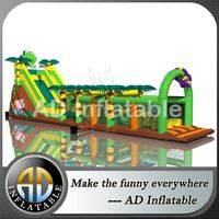 Frog obstacle course,Jungle Inflatable trampoline,Jungle obstacle course