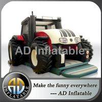 Inflatable trampoline Tractor,Inflatable Tractor bouncer,Inflatable Tractor slide