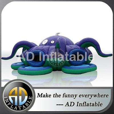 Challenge inflatable trampoline Marine Beetle moonwalk