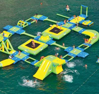 Super Summer Lake Inflatable Floating Water Toys Park