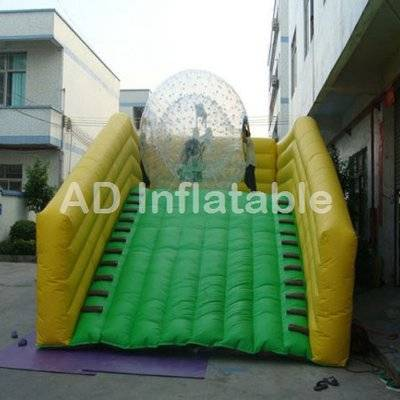 Inflatable Zorb Ramp For Outdoor Amusement Equipment