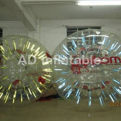 Inflatable ground walking zorb toy