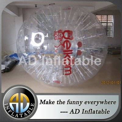 High quality inflatable water zorb ball, big inflatable ball for human