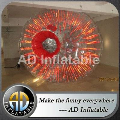 Cheap price grass zorbing ball, human hamster ball for sale