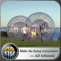 TPU grass zorb ball,Inflatable sphere,Glowing zorb