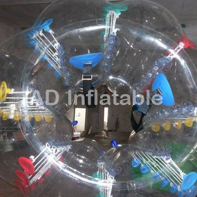 Bubble bumper ball for outdoor football or soccer
