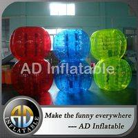 Bumper ball for kids,Human soccer bubble ball,Roll inside inflatable ball,Inflatable Belly Bumper Ball,soccer bubble ball,best body inside ball