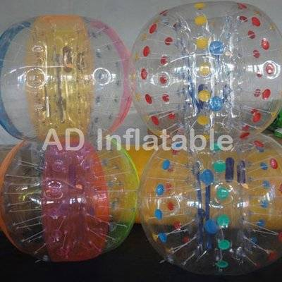 Hot selling factory adult human body tpu inflatable bumper ball for sale