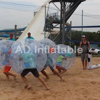 Manufacturer for Inflatable bumper ball, body zorb ball, bubble ball suit with PVC/TPU material