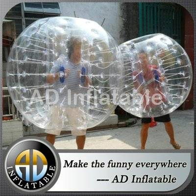Hot selling China funny adult human body tpu inflatable bumper ball for sale