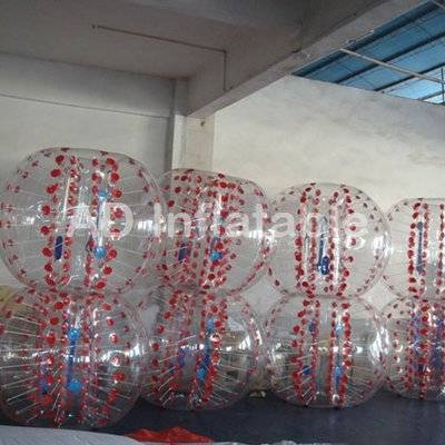 1.0mm Thickness TPU Inflatable Bumper Ball, China human inflatable bumper bubble balls
