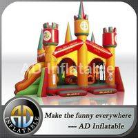 Inflatable giant slides combos,Big inflatable complex,Commercial bouncers jumpers,Inflatable castle with slide,Inflatable castle China price