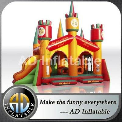 Europe Inflatable castle trampoline material for sale
