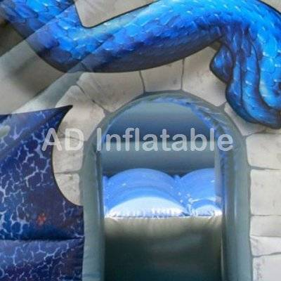 Medieval Castle Of Ancient Times Commercial dragon Bouncy Castle