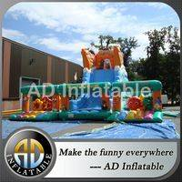 Inflatable Combo slide,Inflatable playground slide,Inflatable Bouncer And Slide