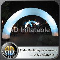 Advertising inflatables,Inflatable arch,Led light arch