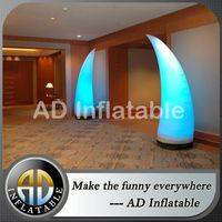 Led light inflatable pillar,Lighting inflatable cone,Decoration inflatable cone