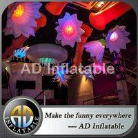 LED lighting inflatable flower,Inflatable LED hanging star,LED lighting decoration