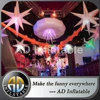 Color changing inflatable star,Attractive Hanging Inflatable,Decorations Inflatable Stars