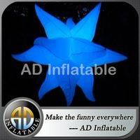 Inflatable hanging LED star,Color changing inflatable star,Stars shaped led inflatables