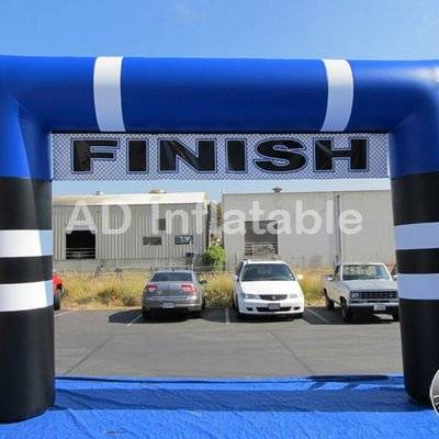 Inflatable arch with business logo printed for outdoor sports games