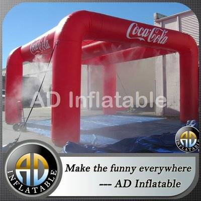Most popular large inflatable arch sealed tent for sale