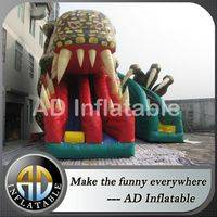 Dragon inflatable water park,Dragon water slide,Raptor inflatable slide