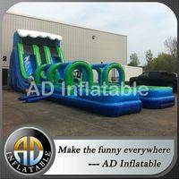 Inflatable slip n slide,slide with slip slide,Water slide for party