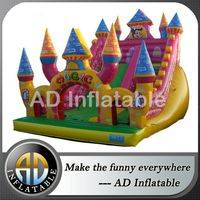 Jumping slide,Mickey mouse jumping slide,Party commercial blown slide