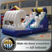 Inflatable riptide slide,Inflatable water dry slide,Inflatable surf water slide