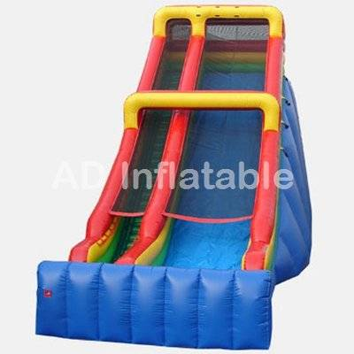 Giant 28' Single Lane Slide for kids and adult, inflatable water slide manufacturers