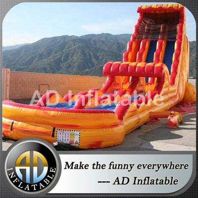 Fire n ice supreme dual lane waterslide wet n wild water slides