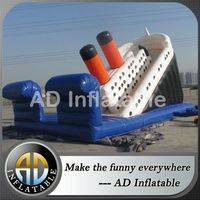 Titanic inflatable slide,Titanic water slide,Cheap inflatable slide