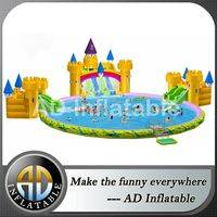 Outdoor inflatable water park,Inflatable slide water park,Inflatable water amusement