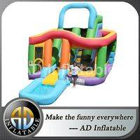 Wet n dry inflatable,Inflatable Slide Castle Combo,Combo Inflatable Castle