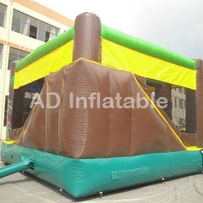 Rain forest backyard commercial inflatable Play Structure bounce house